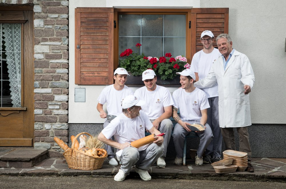 Team der Dorfbäckerei Stumm